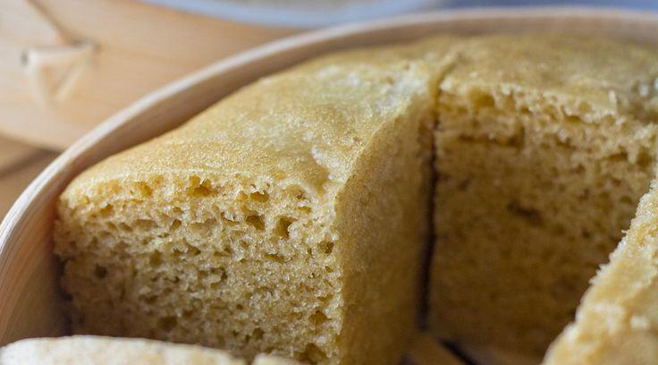 Chinese Steamed Sponge Cake Recipe