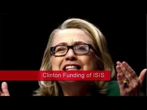 Hillary Clinton Laundered ISIS Cash - Says Investigating U.S. Army Officer,sex zombie fanatics want her to make the US president