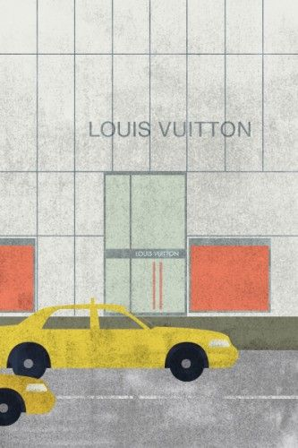 Louis Vuitton, Chanel, Versace and all the drama that comes with it...check out our lesson in fashion history!: Art Design Illustrations, 12 Houses, Shoulder Bags, Contemporary Artists, Fashion Houses, Fashion History, Houses Illustrations, Fashion Gossip, Houseproud Louisvuitton