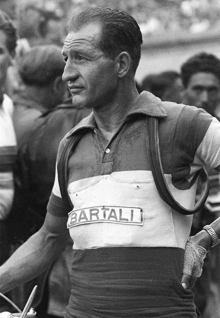 Tour de France 1953. Gino Bartali (1914-2000)