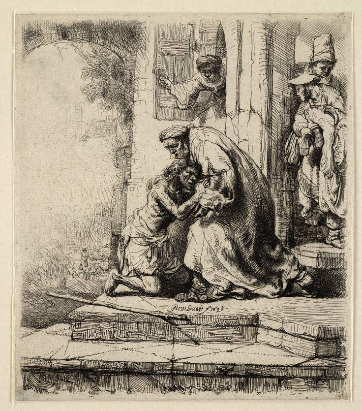 Mijn favoriete Rembrandt in Teylers Museum: Terugkeer van de verloren zoon (B91)