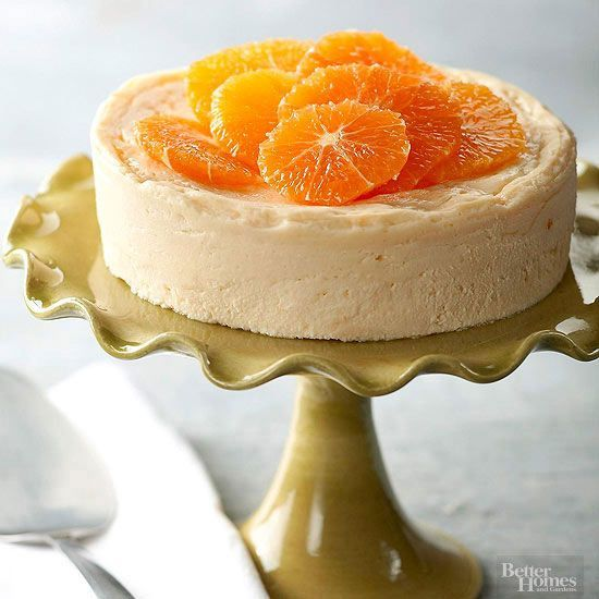 This ginger-orange cheesecake recipe is packed with flavor and creaminess. This healthy cheesecake recipe makes it a great diabetic dessert that is tasty and great for any occasion.