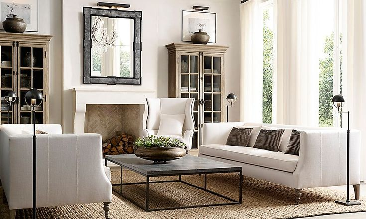 I like the overall feel of this room but some of the elements are a bit too modern or industrial for me