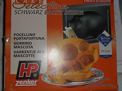 Glücksschwein Backform Marke Zenker / Dachbodenfund in Originalverpackung! in Möbel & Wohnen, Kochen & Genießen, Backbleche & -formen | eBay