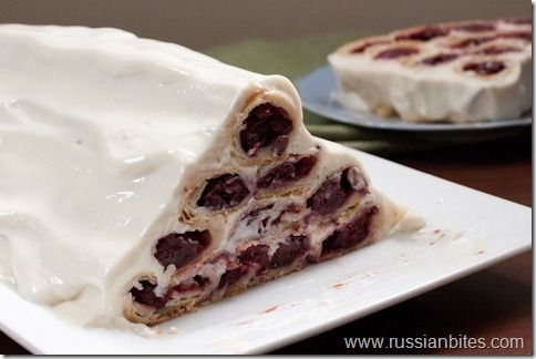 Gorka (sour cherry cake)