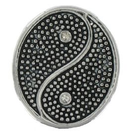 Munt medallion voor munt ketting hanger Yin yang PM087