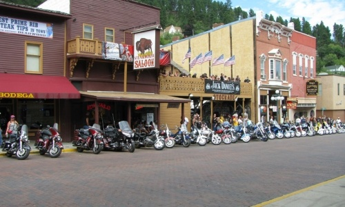 Sturgis, SD - actually Deadwood SD during the rally