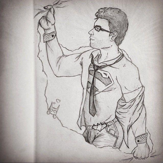 I made a #drawing of my favorite #superhero hope you like it  if you want to see more you can follow me on instagram j.artwor   #art #gayilustracion #gayillustration #superman #batman #gayhero #gaysuperhero #gaylove #hot #gay #DCmen #manofsteel #bat #sup #jla #dccomics #comics #gaycomics #LGBTcomics
