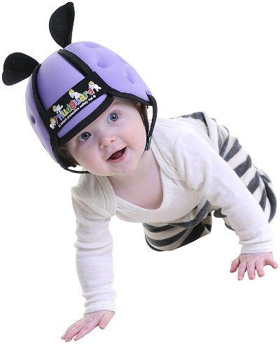 Bebeğinizin başını darbelerden koruyacak şapka üretmiş THUDGUARD ;) #safety #baby #güvenli #sağlık