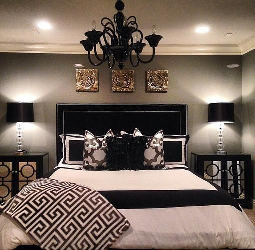 Master Bedroom Paint Color Ideas  Day 1 Gray. Best 25  Black bedroom decor ideas on Pinterest   Black beds  Pink