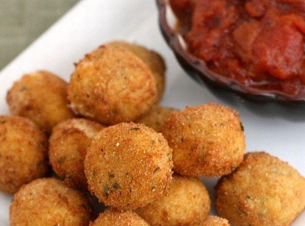 Εύκολα τηγανητά μοτσαρελάκια - Γεύση   Ladylike.gr
