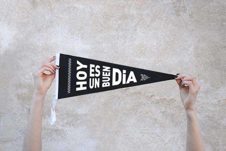 Banderines de fieltro - Decoración hogar tendencia - Miss Saturday