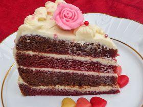 Tarta Red-Velvet o Terciopelo Rojo con thermomix, recetas para san valentín con thermomix, tartas con thermomix,