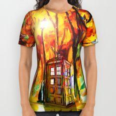 Tardis All Over Print Shirt