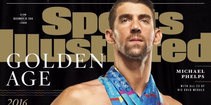 Michael Phelps Wears All 23 Gold Medals On Sports Illustrated Cover | The Huffington Post