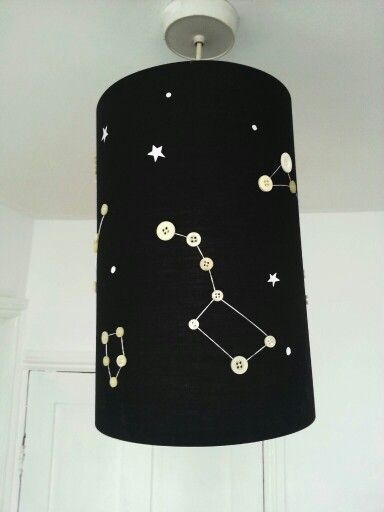 ikea lighting shades. constellation lamp shade made from old buttons and a cheep ikea lampshade got the idea lighting shades