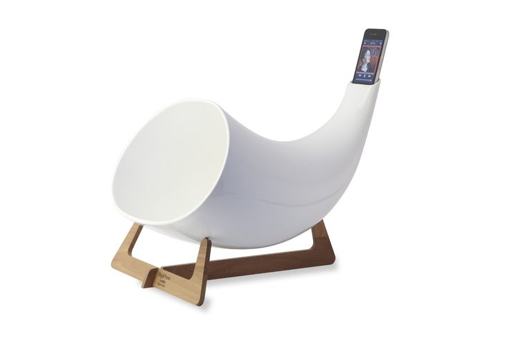 Nordic Genius: ceramic Megaphone for iPhone