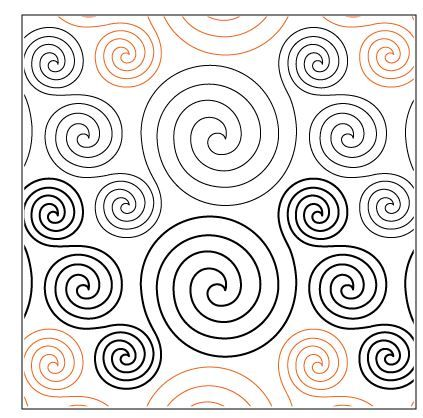 """$0.016 Hypnotic 8"""" pattern Urban Elementz"""