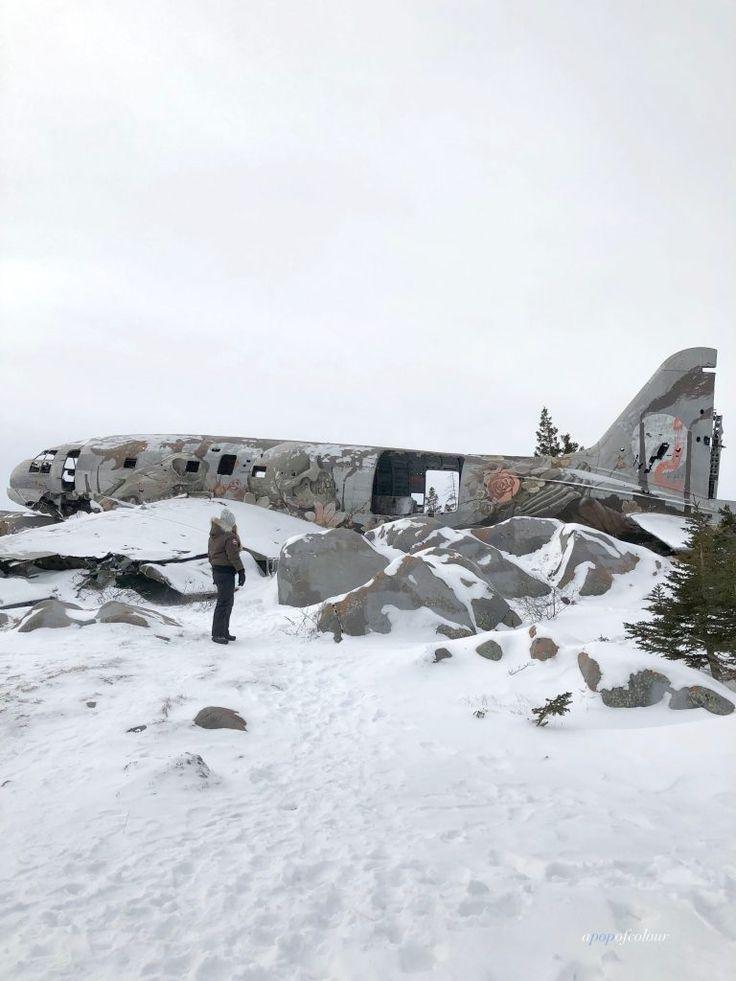 Miss Piggy plane crash in Churchill, MB