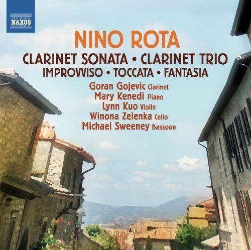 Nino Rota: Clarinet Sonata; Clarinet Trio [CD]