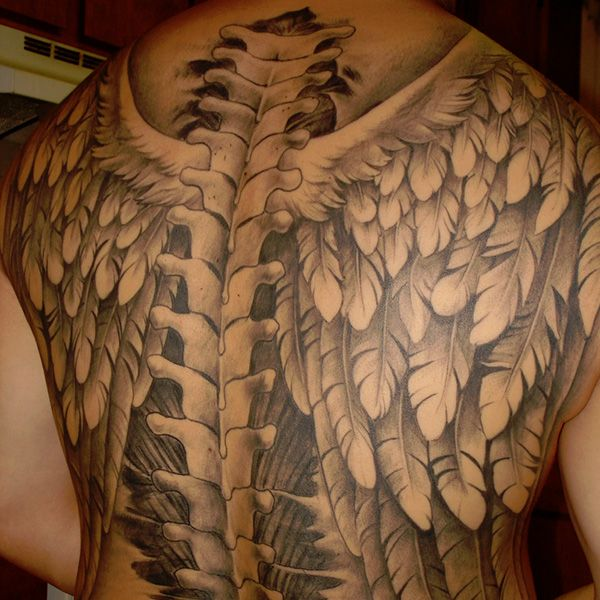 american eagle tattoo 38 Decorative Wing Tattoo For 2013