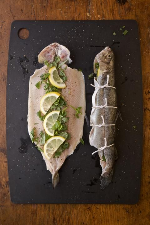 Grilled Whole Trout with Basil, Tomato and Avocado | Outdoor Life