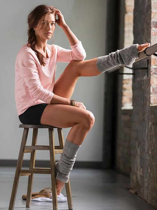 "Athleta Shimmer Cable Leg Warmer: The cozy, cable-knit leg warmer with metallic threads that add a shimmery step to your studio sessions.  Rayon/Nylon Lightweight, plush, comfortable Length: 21.5"". Width: 4"" Metallic sheen adds a glitzy touch Cozy yarn keeps legs toasty inspired for Studio Workouts"