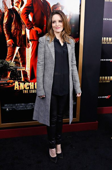 Tina Fey at the 'Anchorman 2: The Legend Continues' Premiere