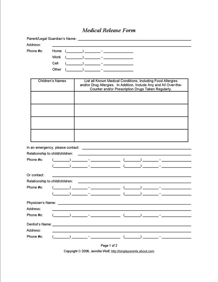 10 best Legal Stuff images on Pinterest Medical consent form - family medical leave act form