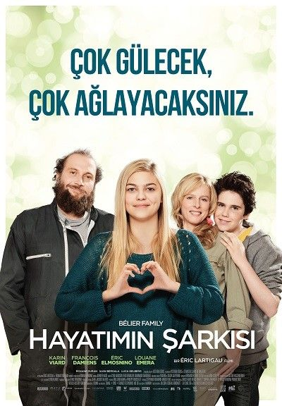 Hayatimin Sarkisi - La Famille Belier - 2014 - BRRip Film Afis Movie Poster