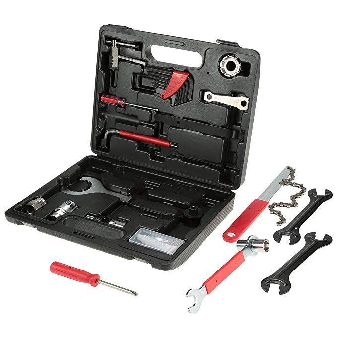 Lixada Bicycle Repair Tool Kit Multi Function Bicycle Maintenance