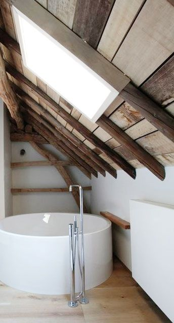 = loft space bathroom