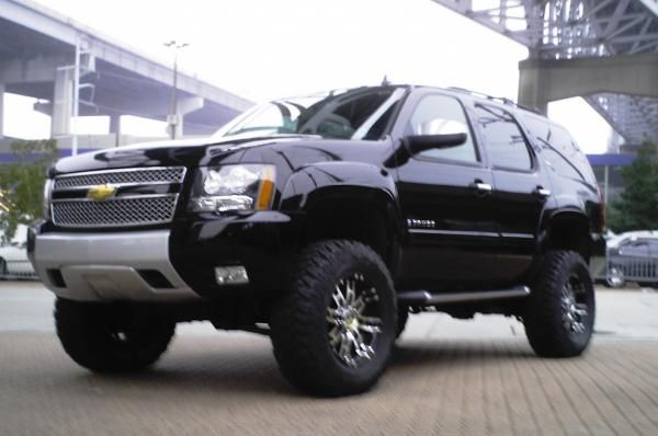 Lifted 08 Z71 Tahoe Cars Trucks Planes Oh My