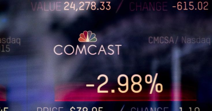 #MONSTASQUADD Comcast Makes Competing Bid for Control of Sky