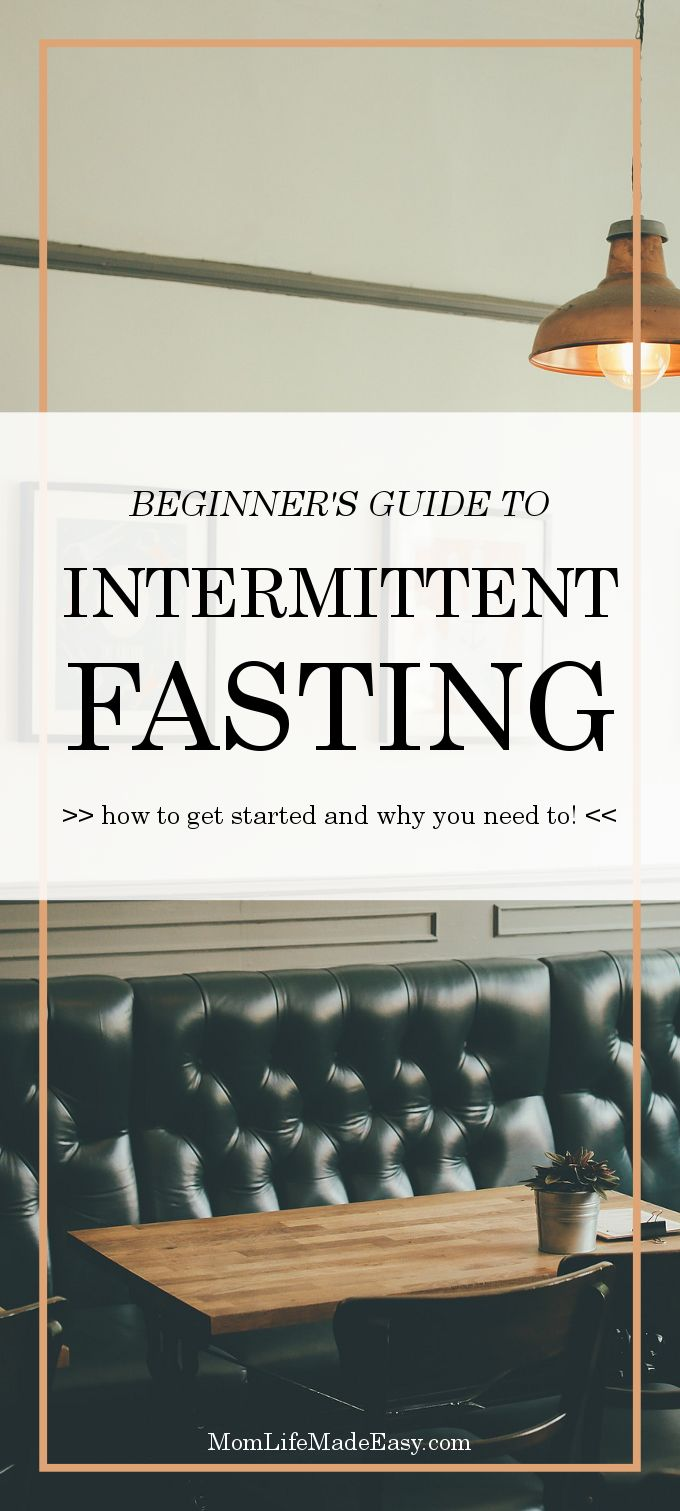 You may have heard the term intermittent fasting before, find out exactly what it means and how to use it to improve your life, health, and weight.