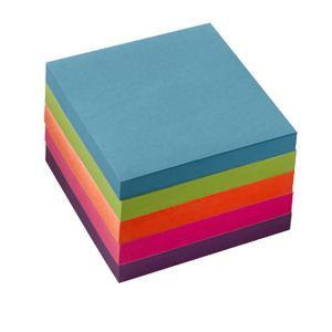 J.Burrows Stick-It Notes 76 x 76mm 5 Pack