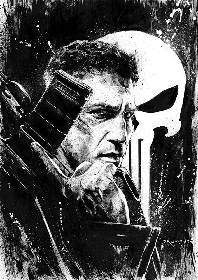Punisher (Jon Bernthal) from Marvel's DaredevilbyDrumond ArtMore Characters here.