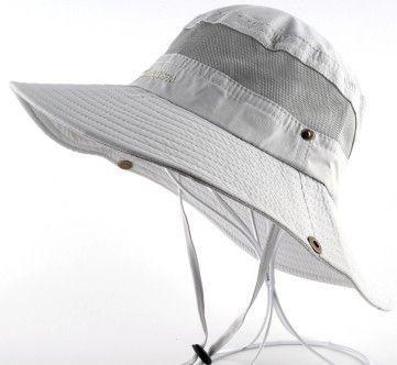 Men's Bob Summer Bucket Hats Outdoor Fishing Wide Brim Hat UV Protection Cap Men Hiking Sombrero Outdoor Gorro Hats For Men