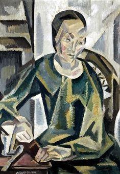Blanchard, Maria (1881-1932) - 1919-20 Lunch (Christie's Madrid, 2008)