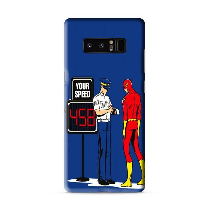 The Flash Speeding Ticket Samsung Galaxy Note 8 3D Case Caseperson