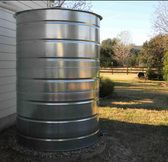 500 | 800 | 1000 Gallon Round Galvanized Steel Water Storage Tanks