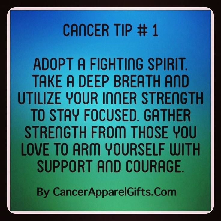 17 best images about cancer tips on pinterest strength