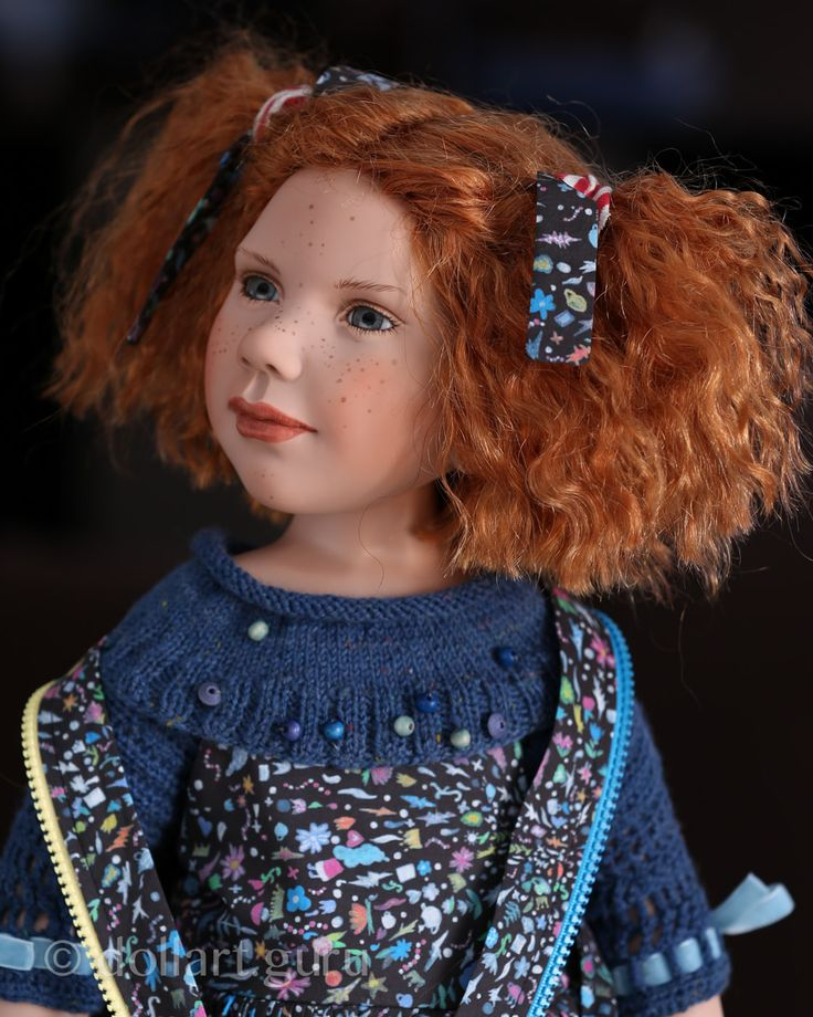 Lore. Коллекционная кукла Цвергназе (Zwergnase)