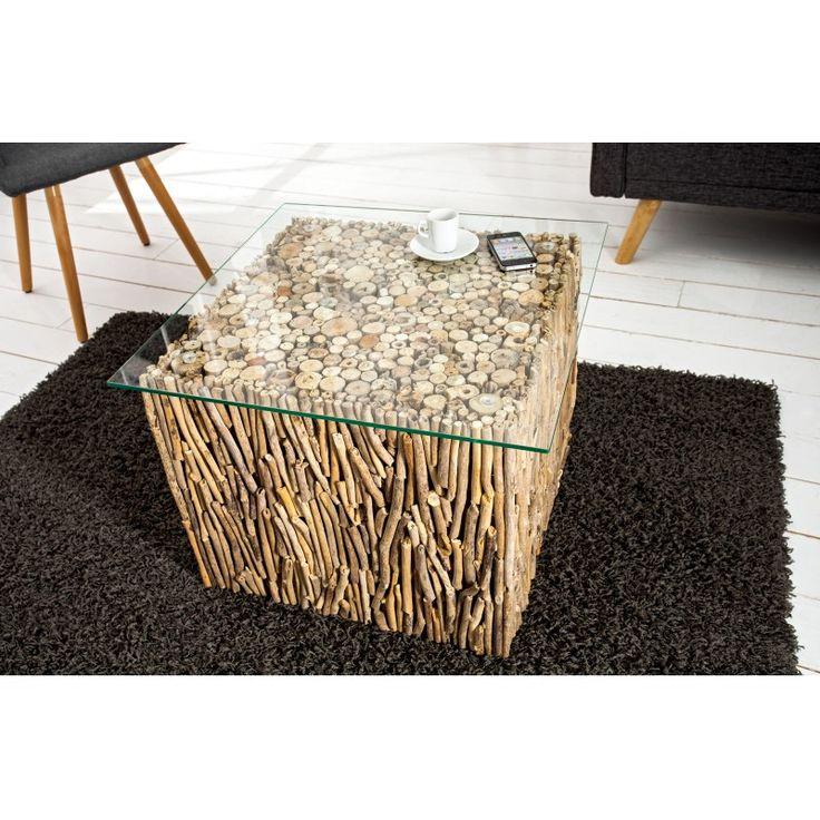 FOSSIL dohányzóasztal 45 cm Kávézóasztalok