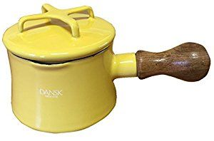 Amazon.com: Dansk Mini Saucepan with Lid - Yellow: Kitchen & Dining