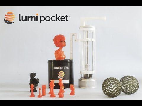 Lumi Pocket: stampante 3D con tecnica DLP da una start up italiana   Hardware Upgrade