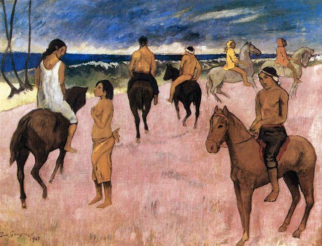 Αναβάτες στην παραλία (1902) Ιδιωτική συλλογή