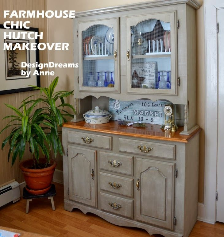 I Found A Hutch For Sale On An Online Buy Sell Page They Were