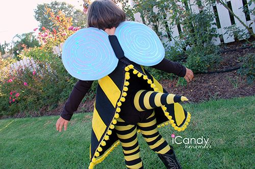 handmade: DIY bee coutume with pattern