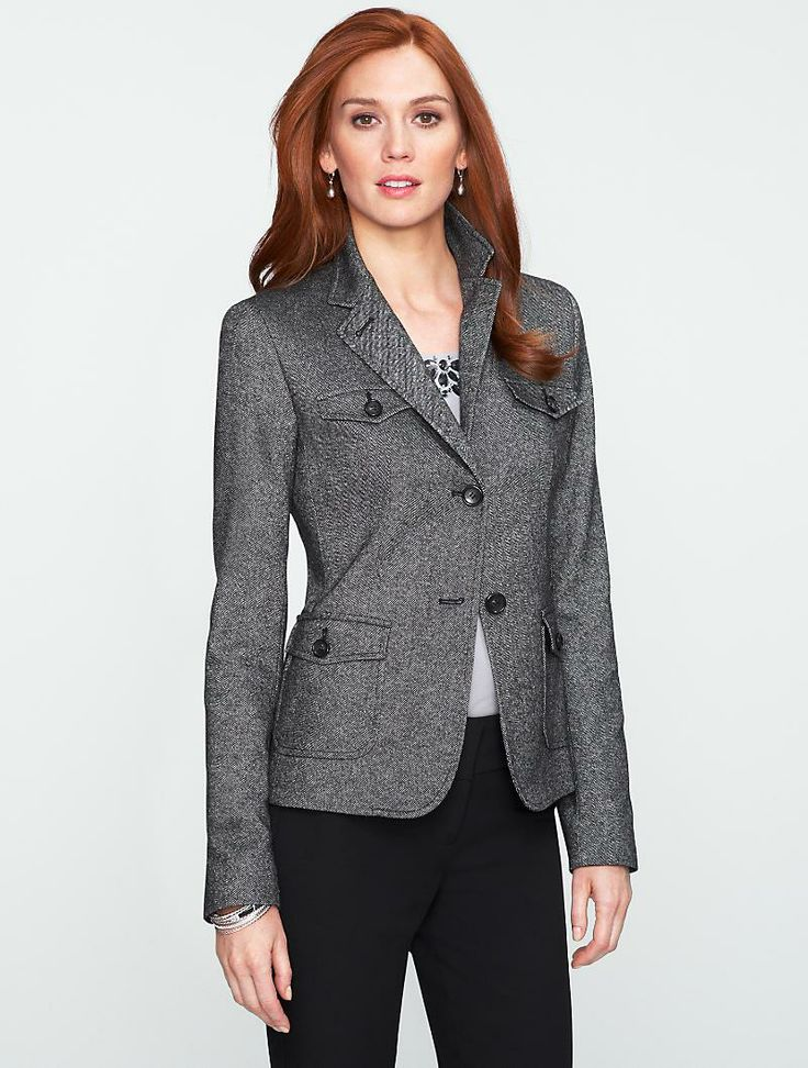 Talbots: Donegal Tweed Military Jacket. Ordered 27 Nov at 50% off. Almost